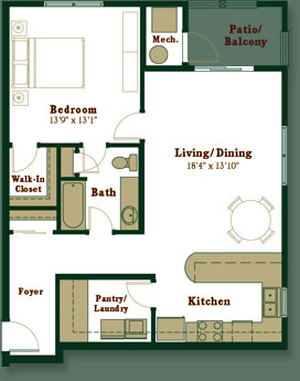 Apartment Options And Floor Plans At Westport Crossing In